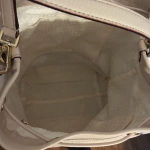 kate spade Bags - Kate Spade Cream Large Bucket Bag Leather